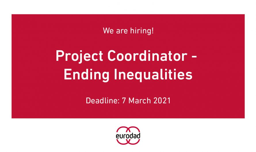 Job vacancy/  Project Coordinator – Ending Inequalities at European Network on Debt and Development (Eurodad) ( #Brussels, #Belgium)