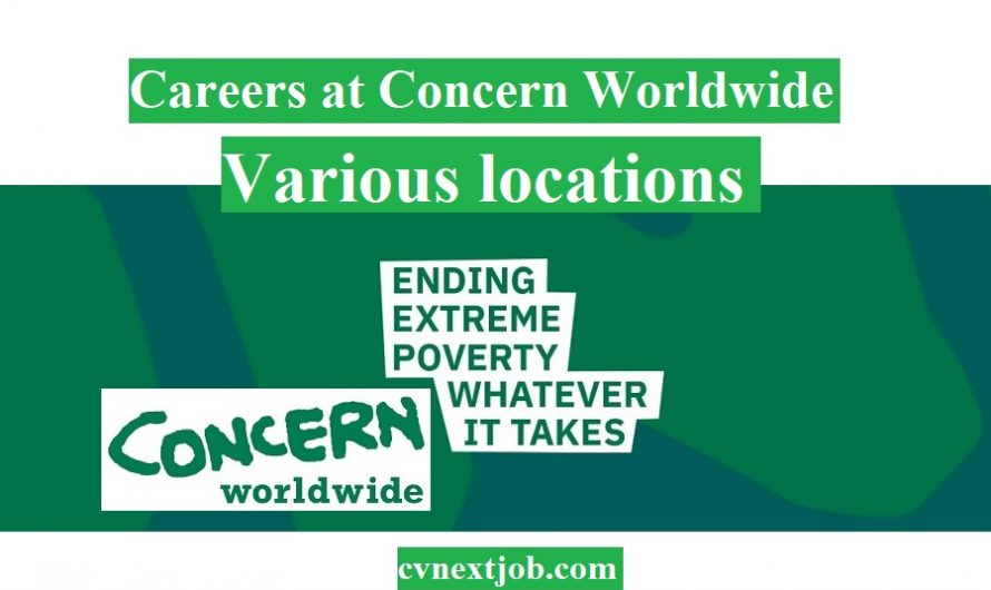 Careers at Concern Worldwide/ Various locations