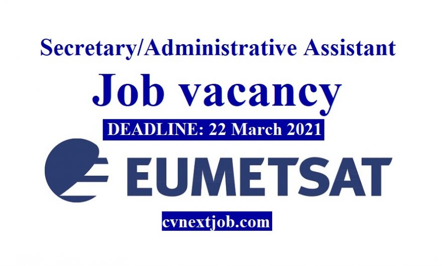 Job vacancy/ – Secretary/Administrative Assistant at EUMETSAT ( #Darmstadt, #Germany)
