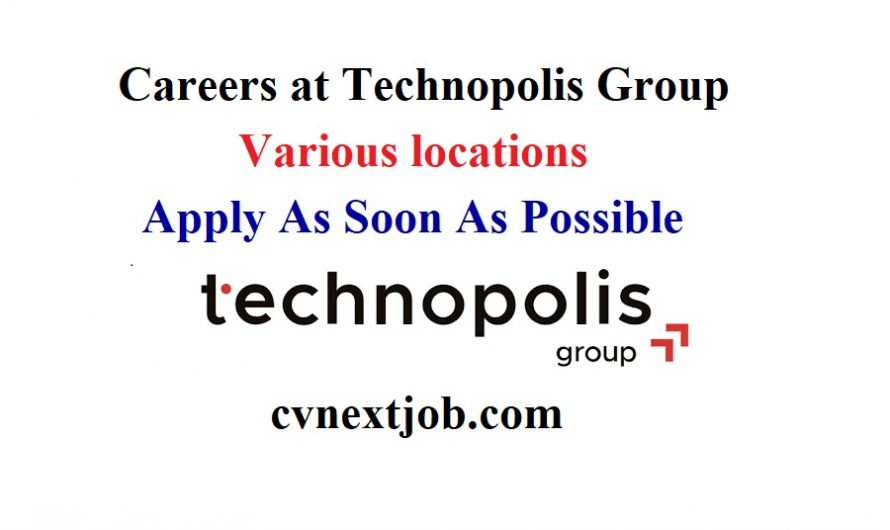 Call for Applications/ Careers at Technopolis Group/ Various locations