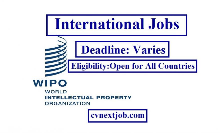 Jobs at World Intellectual Property Organisation (WIPO)